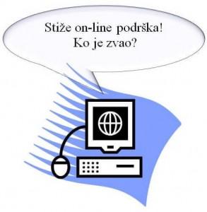 Održavanje web sajta - on line podrška