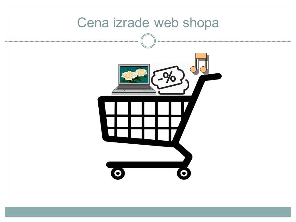 Cena izrade web shopa